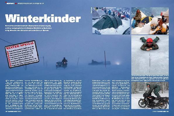 Report - Motorradfahrern im Winter