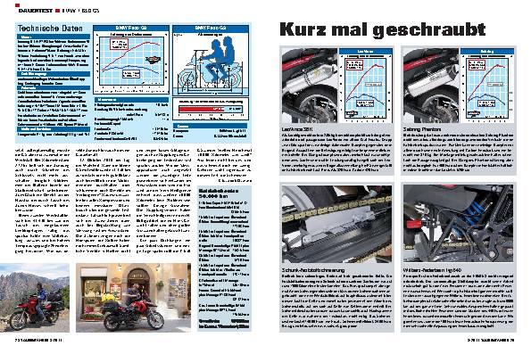 Dauertest - BMW F 650 GS