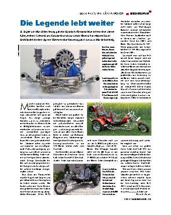 WK Trikes mit Kaefer Motor