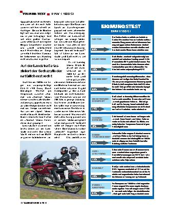 Touren-Test - BMW K 1600 GT