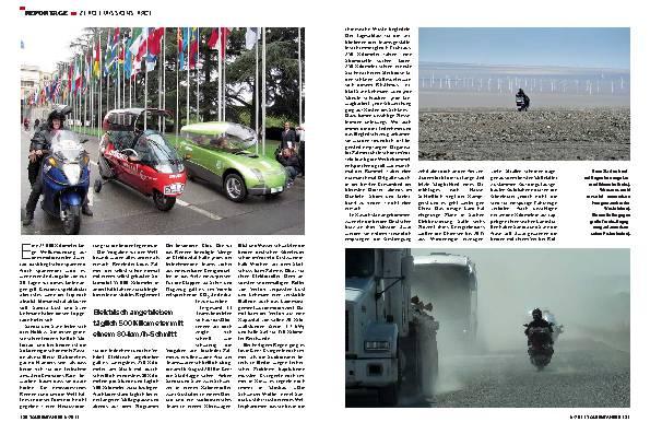 Reportage - Zero Emission Race