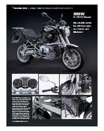 Touren-Test - BMW R 1200 R Classic/Triumph Speed Triple