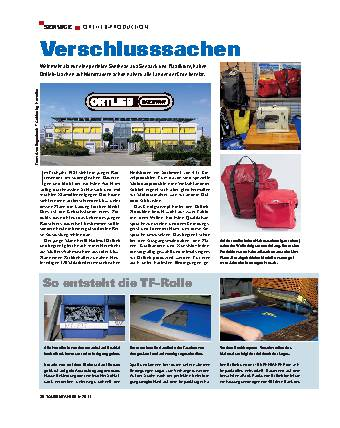 Service - Ortlieb-Produktion