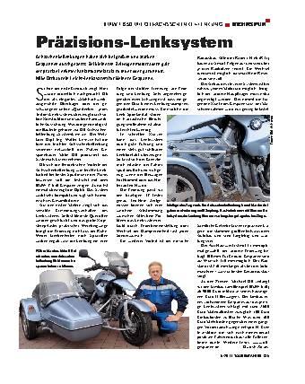 Mehrspur - BMW F 650 mit Ott-Achsschenkel-Lenkung