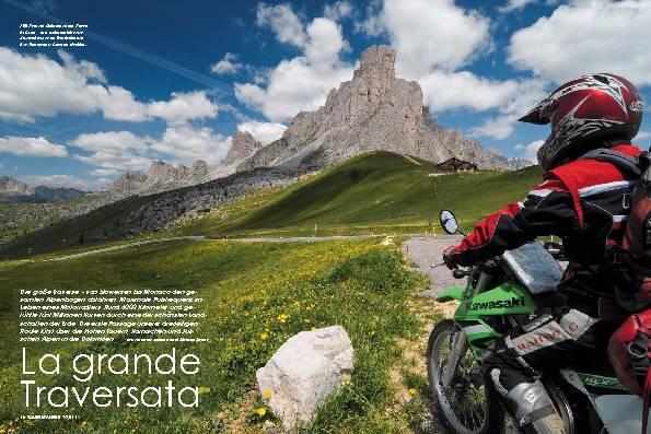 Alpen-Querung, Teil 1: Von den Hohen Tauern in die Dolomiten – La grande Traversata