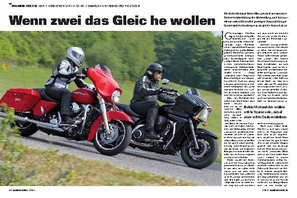Touren-Test - Harley-Davidson Street Glide/Kawasaki VN 1700 Voyager Custom
