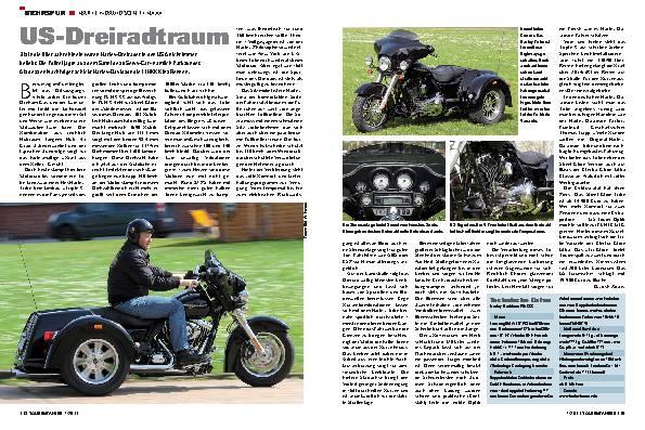 Mehrspur - Harley-Davidson FLHXXX