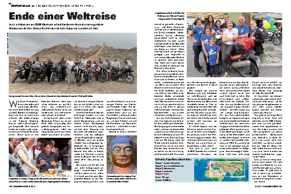 Reportage - Edelweiss-Expedition »Unsere Erde«