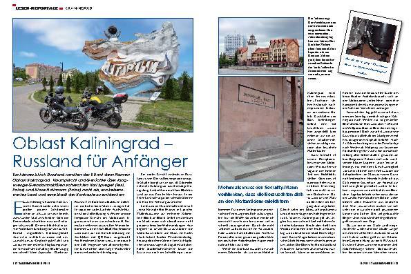 Russland: Reisen rund um Kaliningrad – Russland für Anfänger