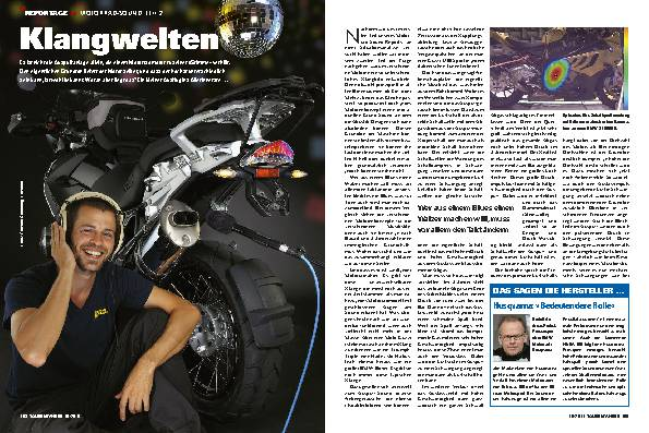 Report: Motorrad-Sound, Teil 2 - Klangwelten