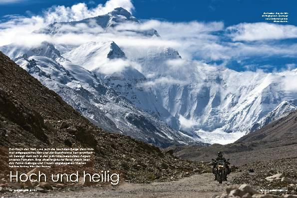 Tibet/China: Abenteuer auf dem Dach der Welt – Hoch und heilig