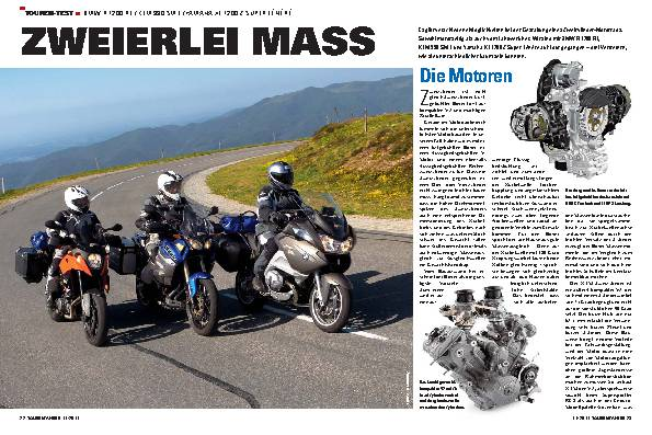 Touren-Test - BMW R 1200 RT/KTM 990 SMT/Yamaha XT 1200 Z Super Ténére