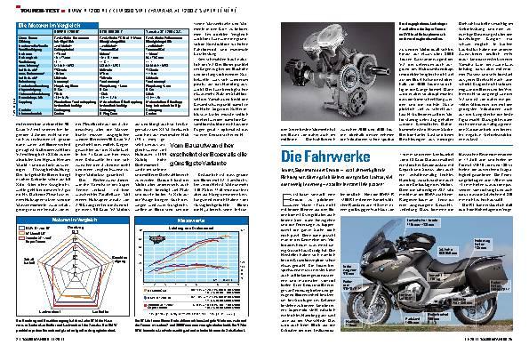 Touren-Test - BMW R 1200 RT/KTM 990 SMT/Yamaha XT 1200 Z Super Ténére