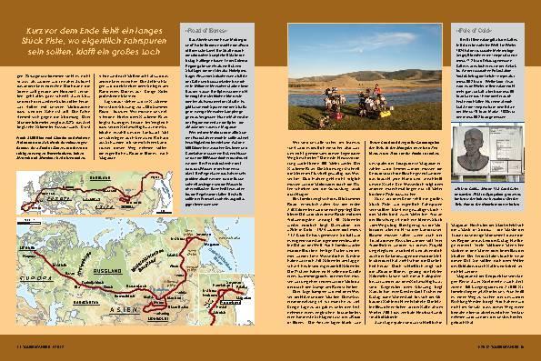 Eurasien-Durchquerung: 12 Zeitzonen, 160 Längengrade, 25.000 km – Die Landmasse
