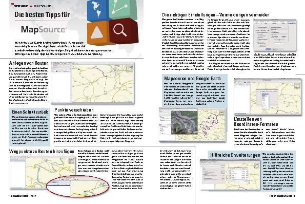 Service - MapSource