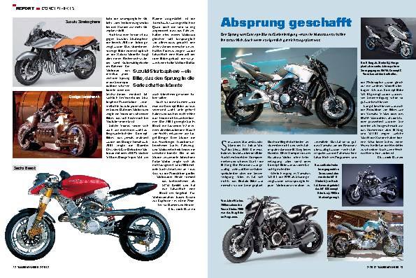 Report - Concept-Bikes und die Hintergründe