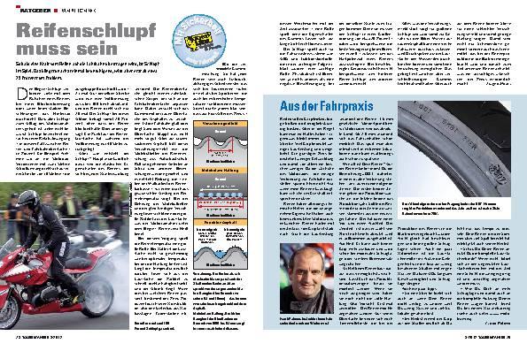 Ratgeber Fahrtechnik: Reifenschlupf