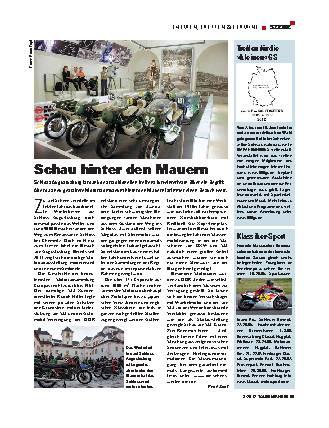 Szene: Motorrad-Museum Schloss Augustusburg