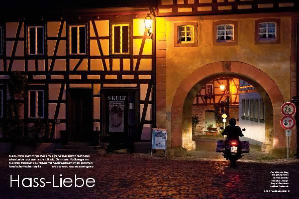 Deutschland: Die Haßberge, eine fränkische Idylle – Hass-Liebe