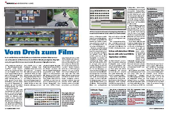 Service - Service: Vom Dreh zum fertigen Film – Tipps zur Video-Nachbearbeitung