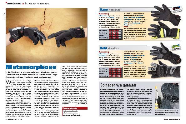 Ausrüstung - Übergangs-Handschuhe