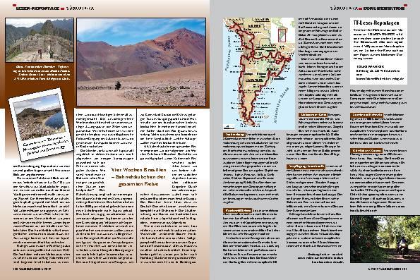 Südamerika: 32.000 km zwischen 43 Breitengraden – Ziemlich breitgemacht
