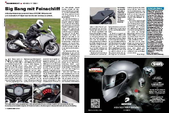Fahrbericht - Honda VFR 1200 F
