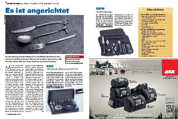 Ausrüstung - Erweiterungen fürs Bordwerkzeug