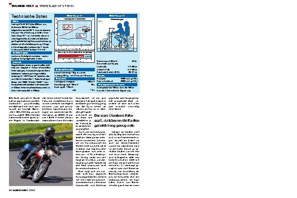 Touren-Test: Moto Guzzi V7 Special