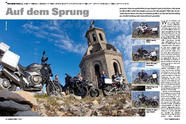 Vergleichstest, Teil 2: BMW R 1200 GS / Honda Crosstourer / Triumph Tiger Explorer / Yamaha XT 1200 Z Super Ténéré