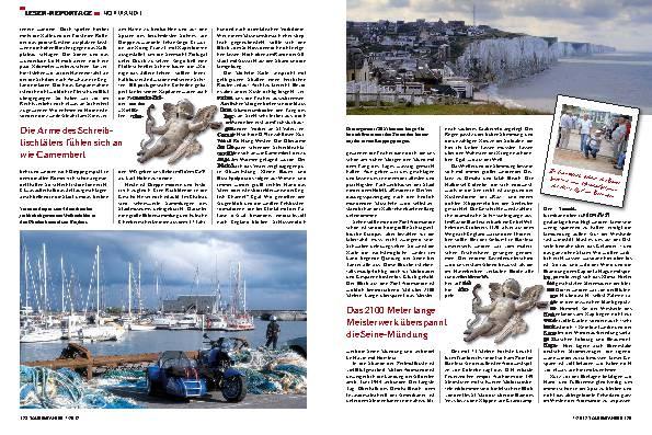 Frankreich: Mit Beiboot in die Normandie – Lust auf Meer!