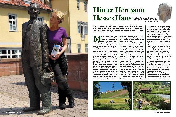 Deutschland/Schweiz: Einem rastlos Suchenden hinterhergereist – Hinter Hermann Hesses Haus