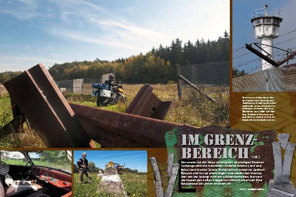 Deutschland/Österreich: Entlang des Eisernen Vorhangs, Teil 2 – Im Grenzbereich