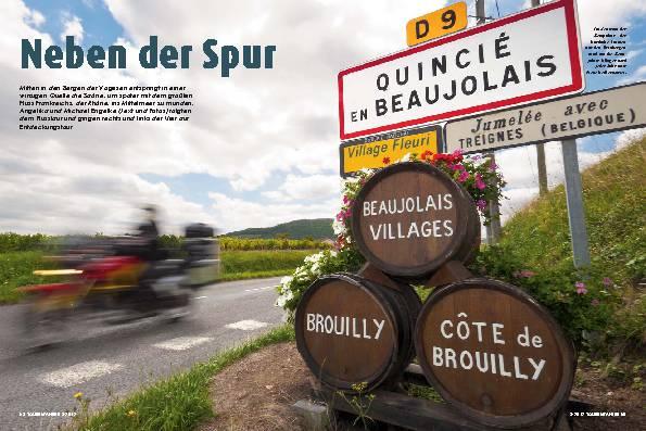 Frankreich: Saône und Rhône als Wegweiser – Neben der Spur
