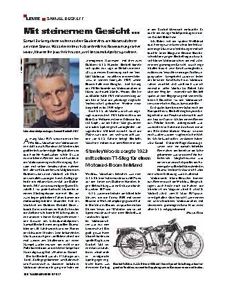 Samuel Beckett – Literat und Biker