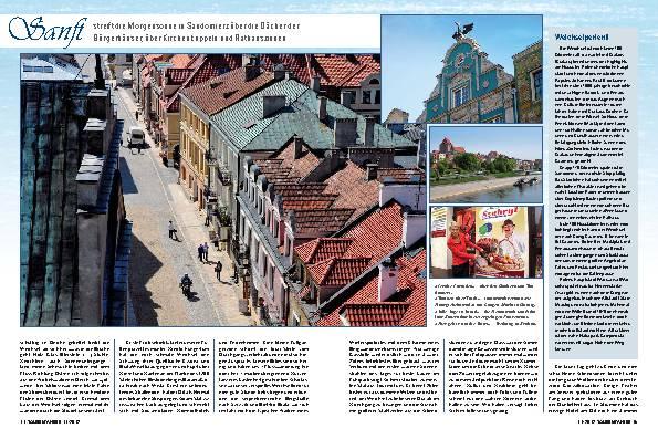 Polen: Acht Frühschichten gegen die fließende Zeit – Weichselwanderung