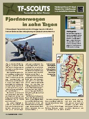 TF-Scouts - Fjordnorwegen in zehn Tagen