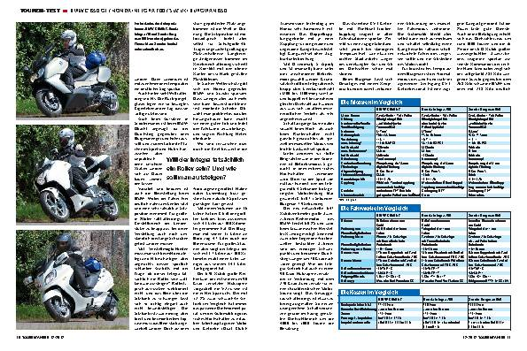 Roller-Vergleich: BMW C 650 GT / Honda Integra 700 / Suzuki Burgman 650