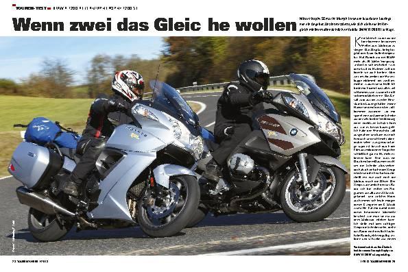 Vergleichstest: BMW R 1200 RT / Triumph Trophy SE