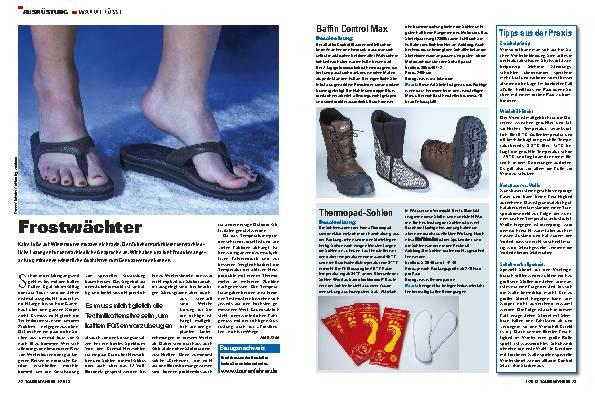 So bleiben die Füße warm: Socken, Stiefel und mehr für eisige Touren