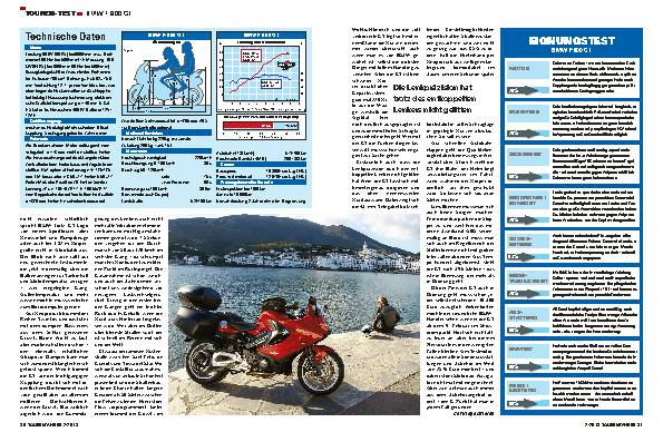 Touren-Test: BMW F 800 GT