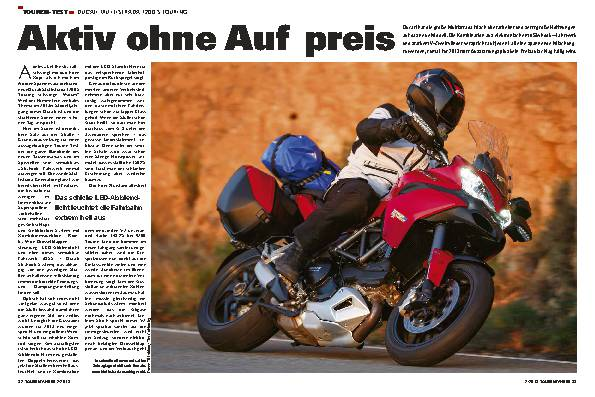 Touren-Test: Ducati Multistrada  1200 S Touring