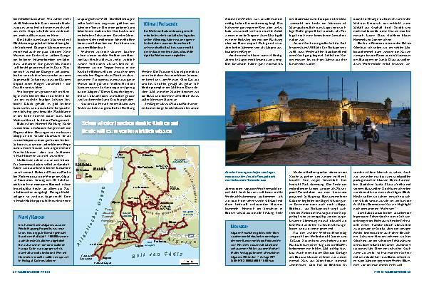 Portugal: Ziel für die kleine Winter-Flucht – Hart am Wind