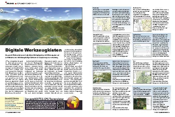 GPS-Workshop, Teil 4: Software-Lösungen