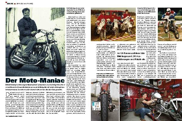 Leute: Dirk Oehlerking, Moto-Maniac