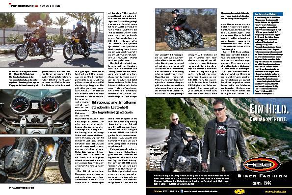 Fahrbericht: Honda CB 1100