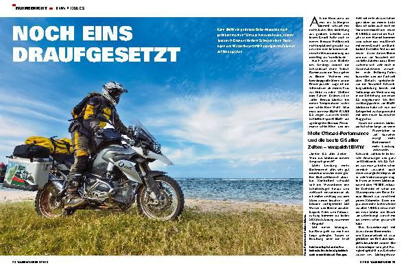 Fahrbericht: BMW R 1200 GS