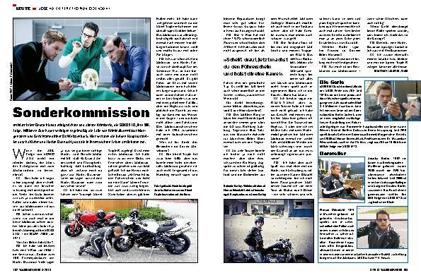 Leute: Joscha Kiefer und Florian Odendahl –  SOKO auf zwei Rädern