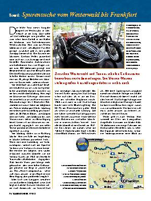 Mit dem Motorrad auf Geschichtsreise, Teil 2