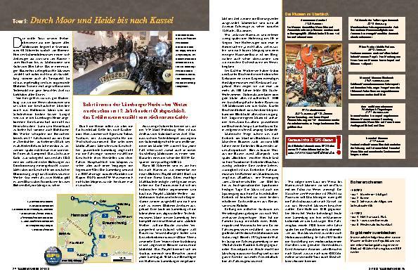 Mit dem Motorrad auf Geschichtsreise, Teil 3